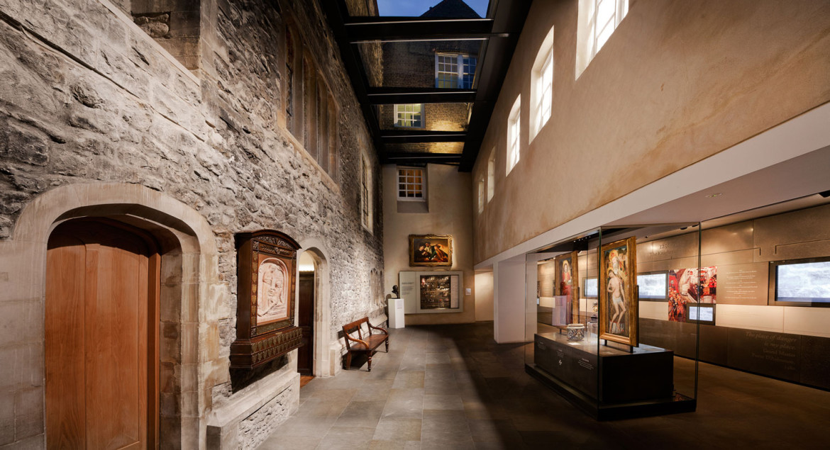 View of the Link Gallery of the Museum of the Order of St John