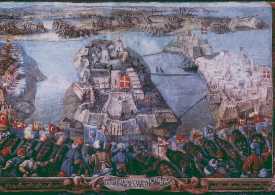 The Siege of Malta, 1565