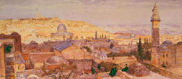 Panorama of Jerusalem by Tristram Ellis, 1897 (LDOSJ 1059)