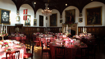 A dinner in the Chapter Hall