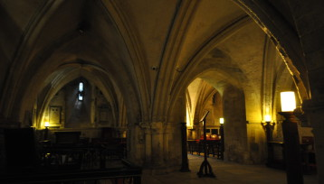 The Crypt of the Priory Church of the Order of St John