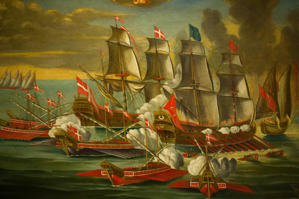 Capture of a Turkish Ship, 18th century