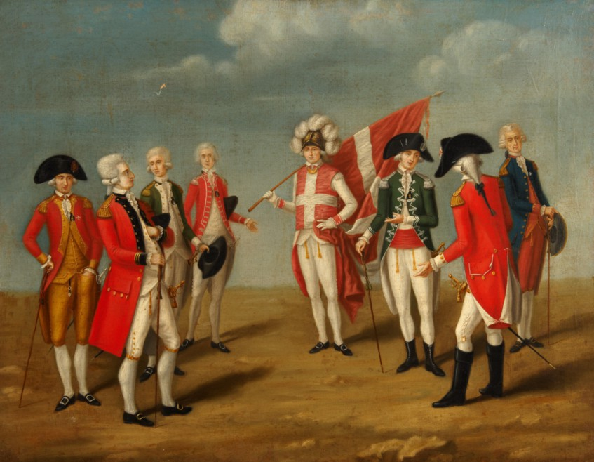 Dignitaries of the Order of St John, after Favray, late 18th century