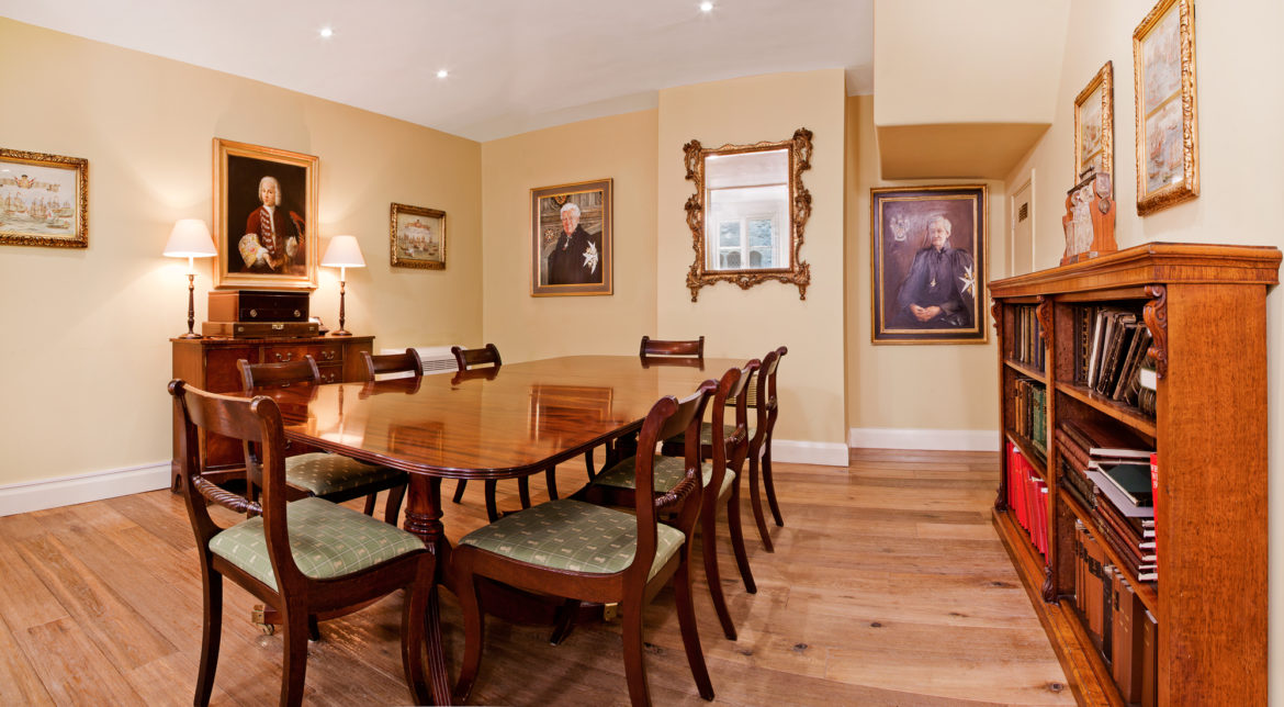 The Prior's Dining Room. © MOSJ
