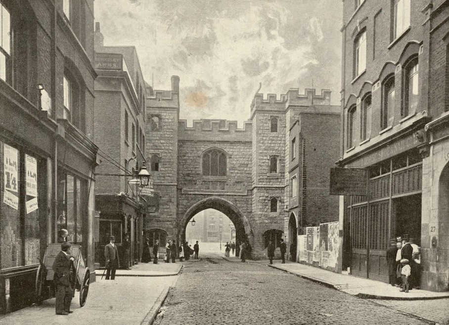 St John's Gate, 19th century