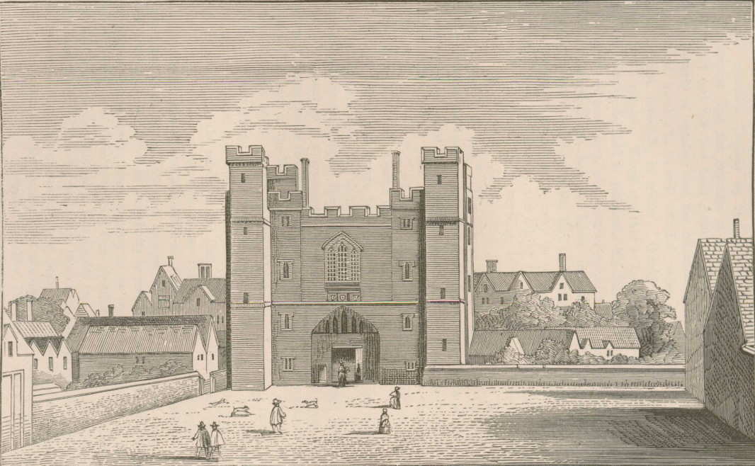 St John's Gate, after an engraving by Wenceslaus Holler, 1661