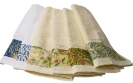 Hand towels with a William Morris