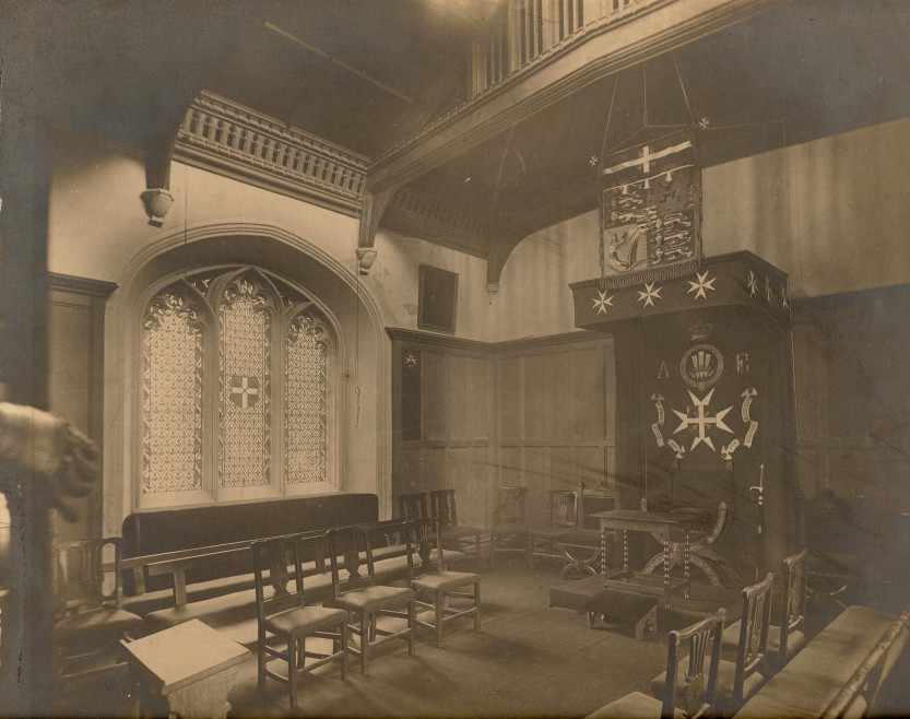 The Council Chamber, c.1888