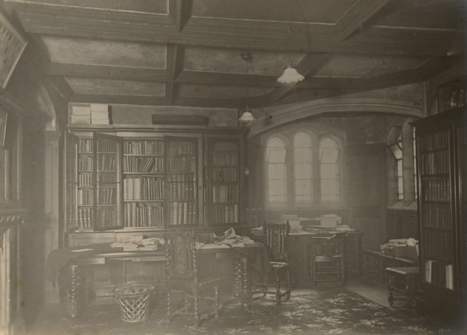 The Priory Room, now the Museum reception, 1900