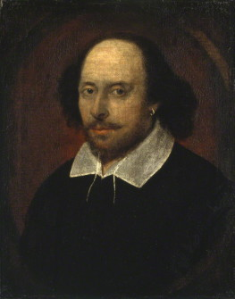 William Shakespeare attributed to John Taylor circa 1610 © National Portrait Gallery, London
