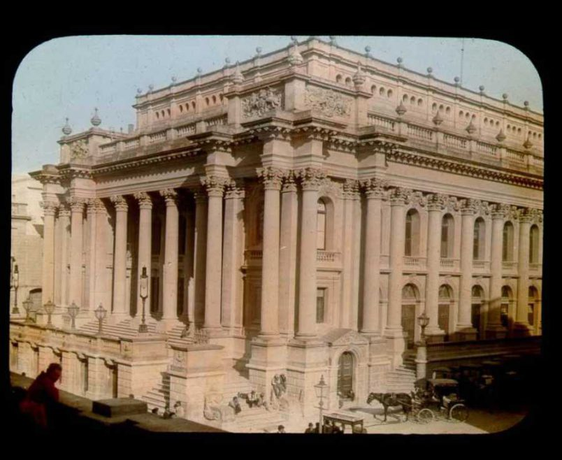 The Royal Opera House in 1896 ©The Field Museum Library