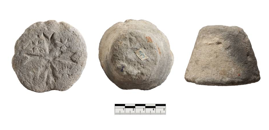Medieval bread stamp, Cyprus. Museum of the Order of St John and University of Birmingham 2016