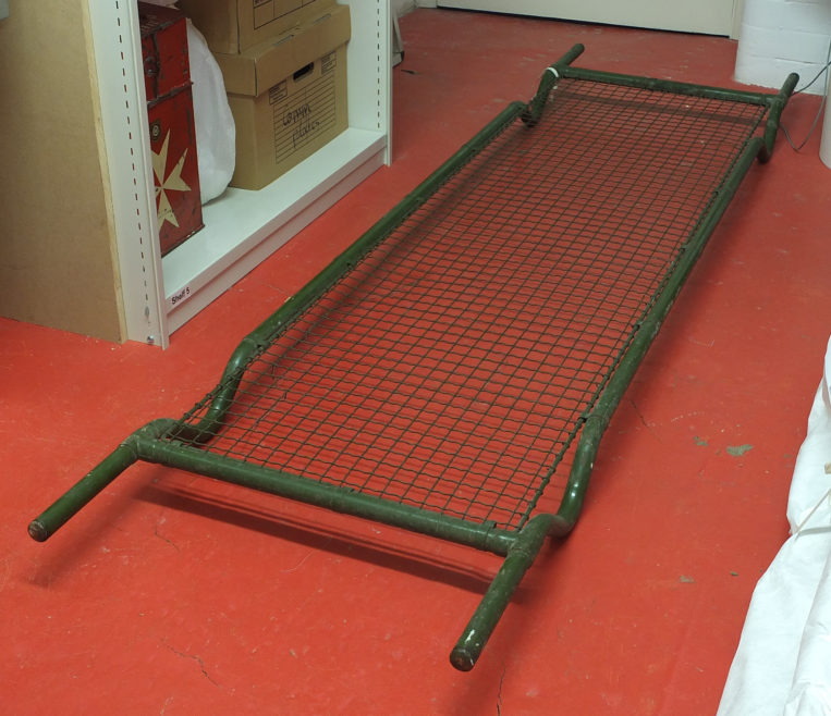 The Museum's ARP stretcher