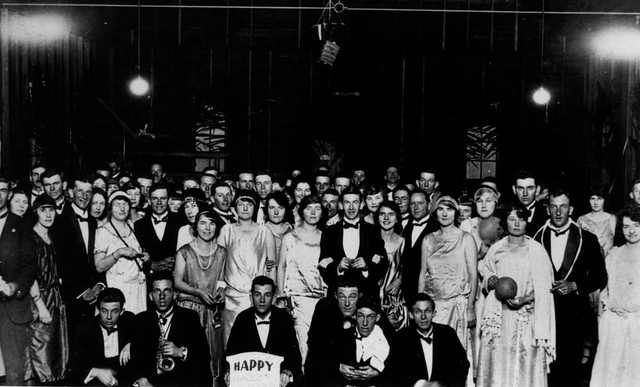 Jazz party, 1925