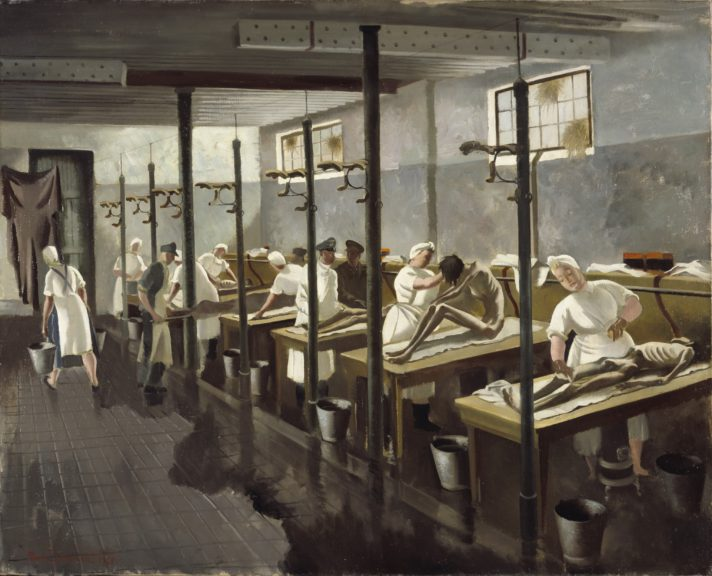 Human_Laundry,_Belsen-_April_1945_By Doris Zinkeisen
