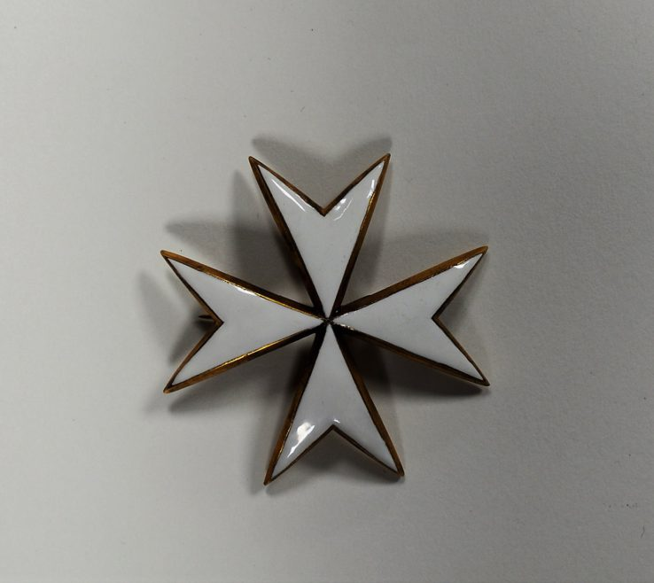 A Knight of Justice Breast Star