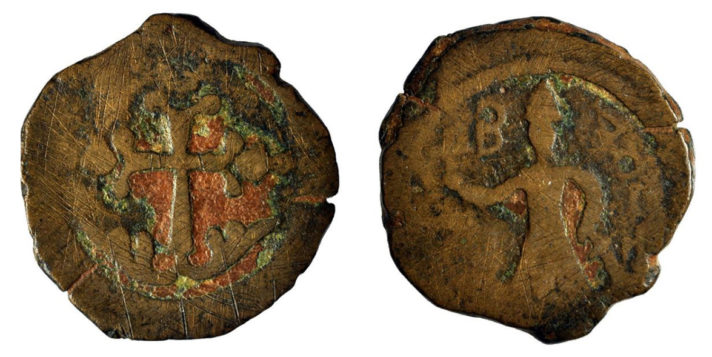 crusader coin from edessa