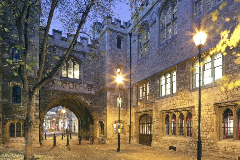 The historic St John's Gate is an ideal location for hosting events.
