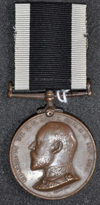 Order of St John South Africa Medal awarded to W.J. Church Brasier LDOSJ200D