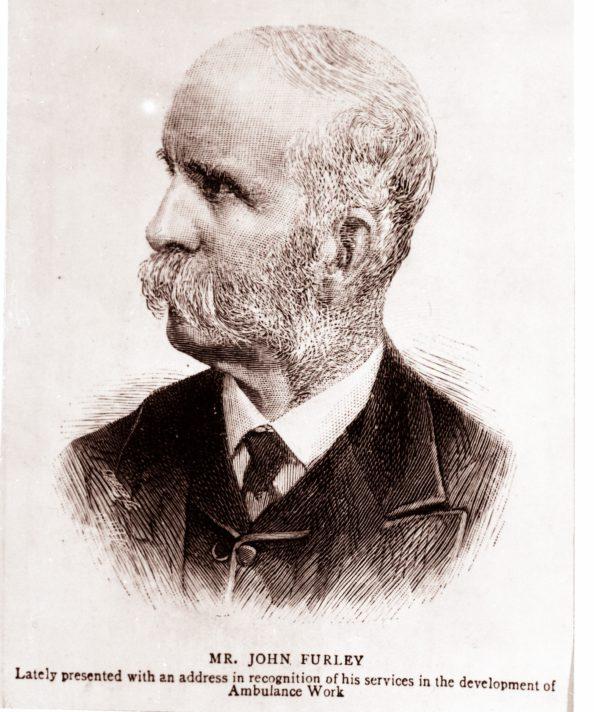 sketch of John Furley