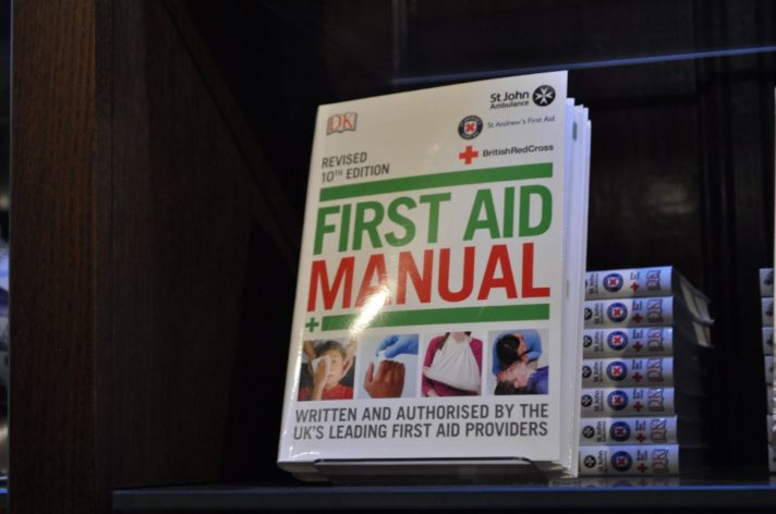 Photograph of First Aid Manual