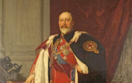 Painting of Edward VII