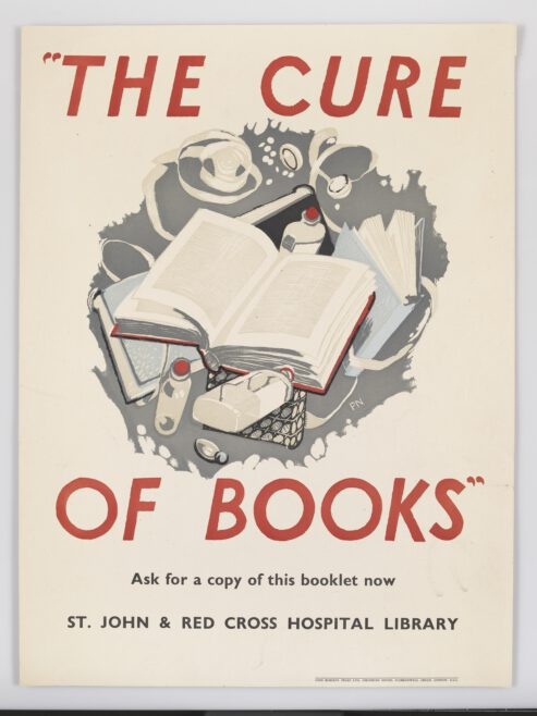 The Cure of Books Poster, LDOSJ SJA2076