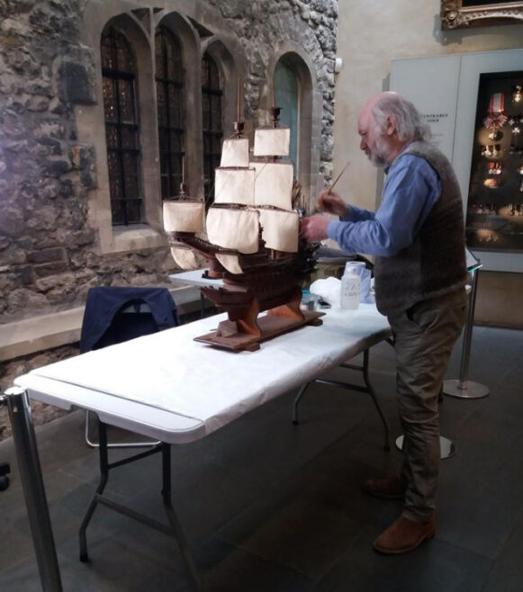 Conservation of the Santa Anna in action