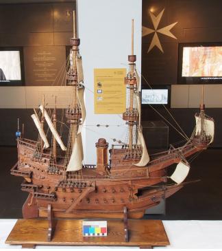 The Santa Anna model after conservation
