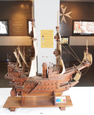 The Model of the Santa Anna before conservation
